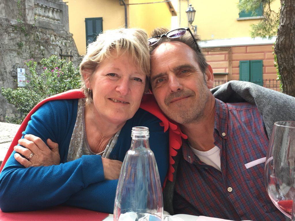 Christel Klapwijk en Cees van der Woude